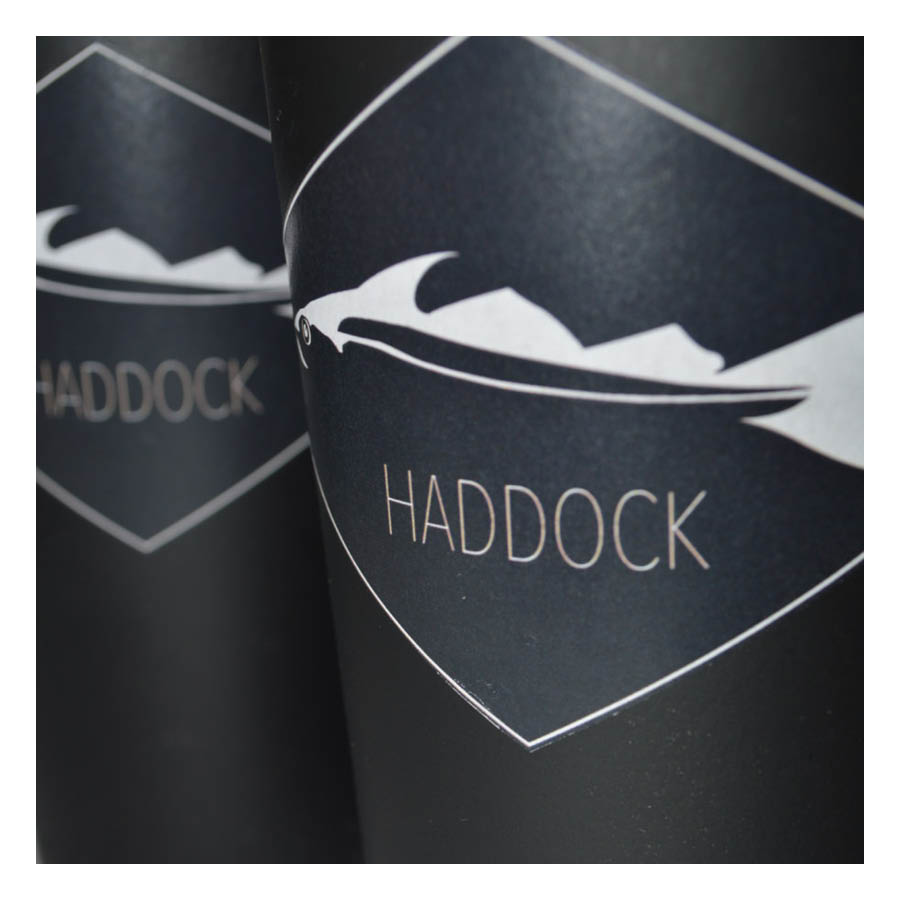 design graphique restaurant haddock pack
