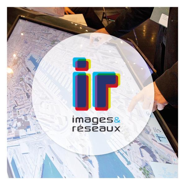 maquette web design image et réseau